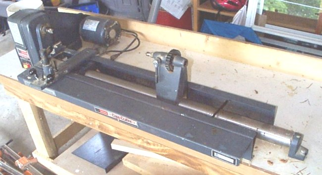wood lathe copy crafter